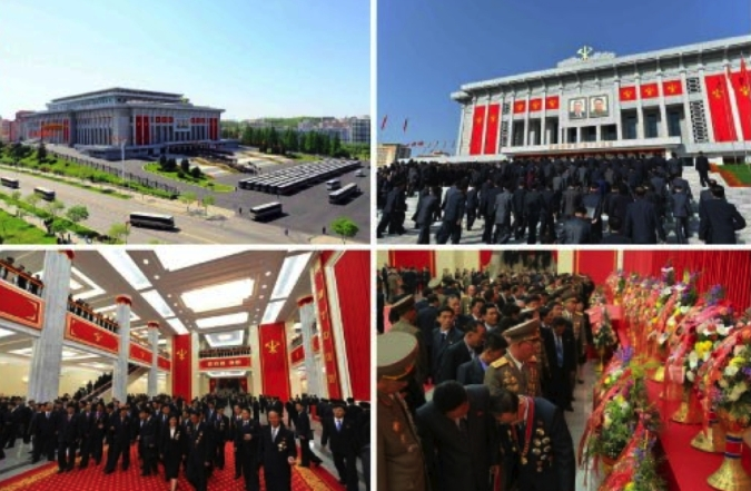 Views of 7th Party Congress participants during the second day of the congress on May 8. 2016 (Photos: Rodong Sinmun-KCNA).