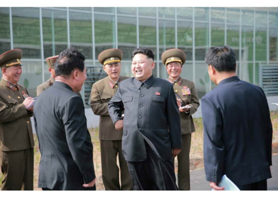 Kim Jong Un visits KPA Tree Nursery #122 (Photo: Rodong Sinmun)