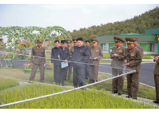 (Photo: Rodong Sinmun)