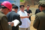 Kim Jong Un issues instructions on the construction of a medical oxygen factory in the suburbs of Pyongyang (Photo: Rodong Sinmun).
