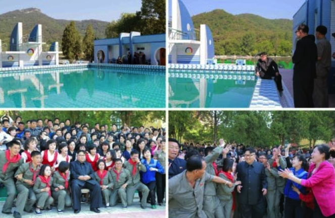 (Photos: Rodong Sinmun-KCNA).
