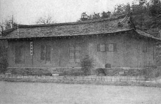 The school where Kim Hyong Jik taught in Ponghwa-ri (Photo: NK Leadership Watch file photo)