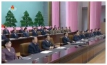The platform at the national meeting held on September 5, 2016 Photo: KCTV